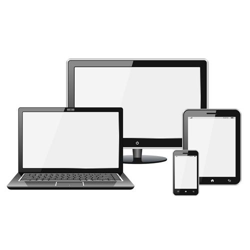 Responzivní vzhled webu